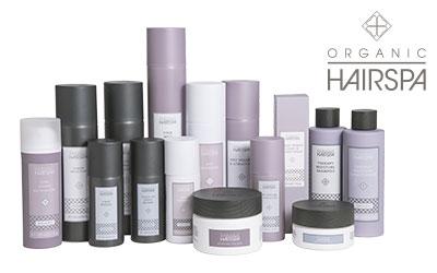 Læs om Organic Hairspa produkterne her