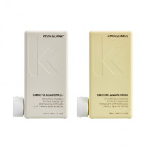 KEVIN.MURPHY SMOOTH.AGAIN WASH & SMOOTH.AGAIN.RINSE
