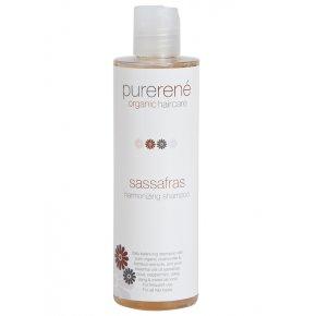 purerené sassafras harmonizing shampoo