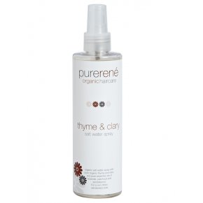 purerené thyme & clary salt water spray